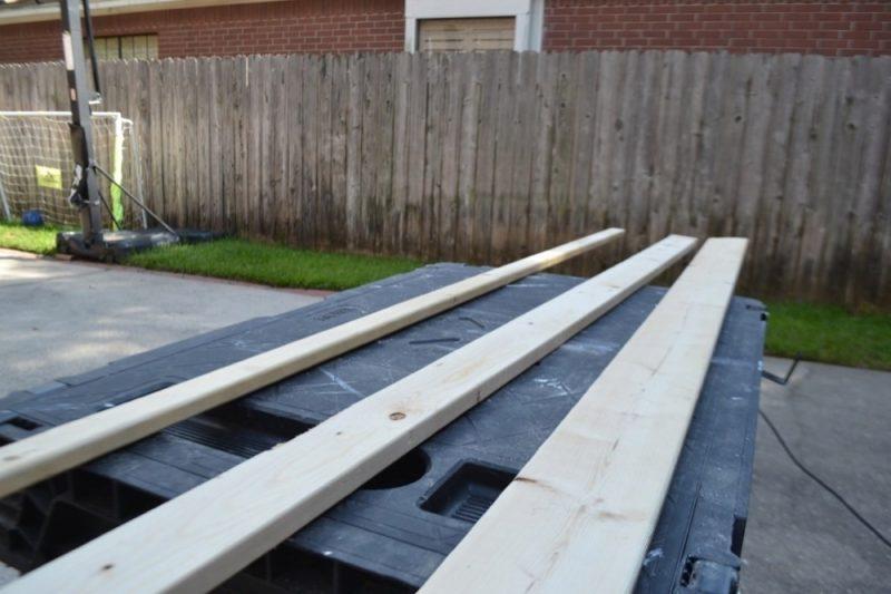 wooden ledges prep