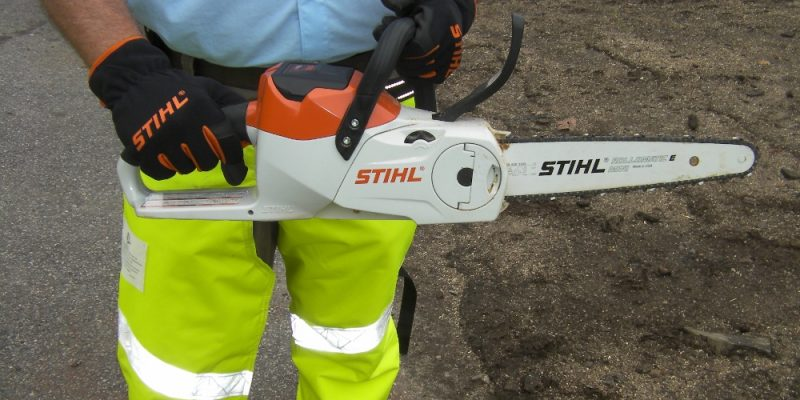 Stihl Lightning Affordable Battery Powered Outdoor Power Tools and Some Timbersports Fun