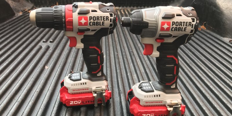 Porter Cable Brushless EDGE Drill And Impact Driver – Pushing The Edge