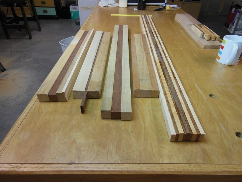 Glued up blanks