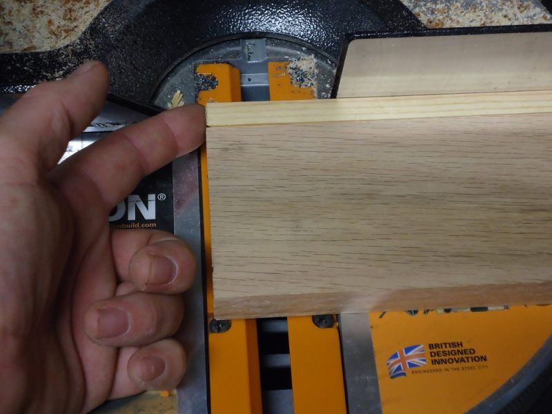 Aligned for cutting