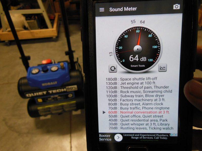 Kobalt Quiet Tech noise