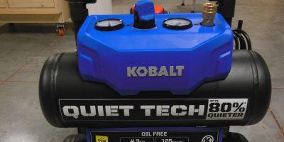 Kobalt 4.3 Gal. Quiet Tech Air Compressor