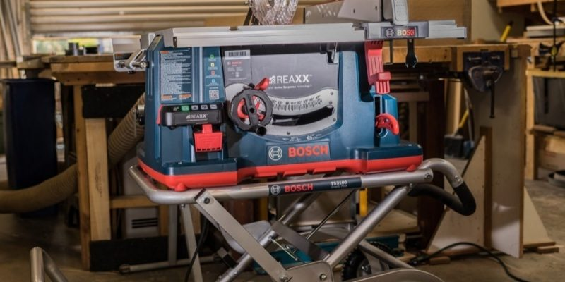 Bosch REAXX Table Saw Review – Finger Lick'n Good
