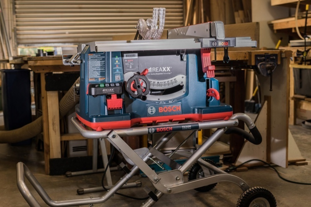 Bosch REAXX Table Saw Review - Finger Lick'n Good
