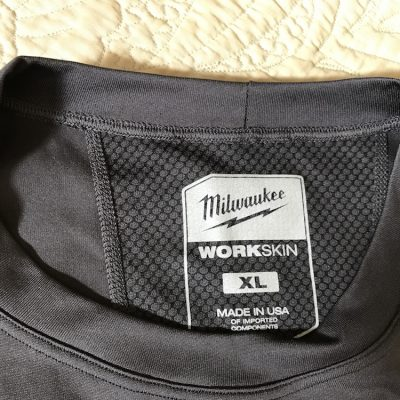 Milwaukee WorkSkin Cold Weather Base Layer Makes Winter No Sweat