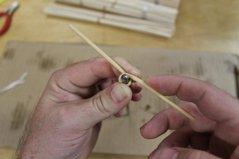 Bending the rattan