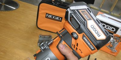 Ridgid R86044 Brushless 18V Compact Trim Router – Trimtastic
