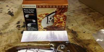 Rockler Pizza Cutter Turning Kit – Minus the Turning