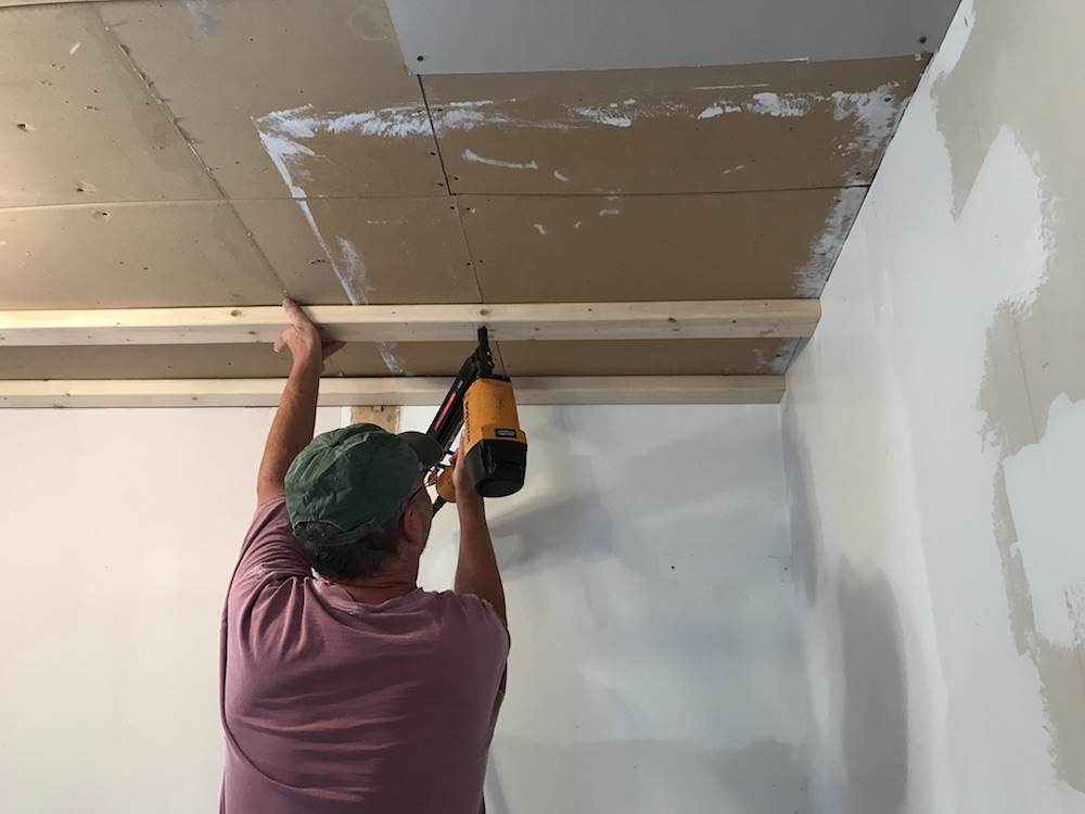 total ceiling replacement