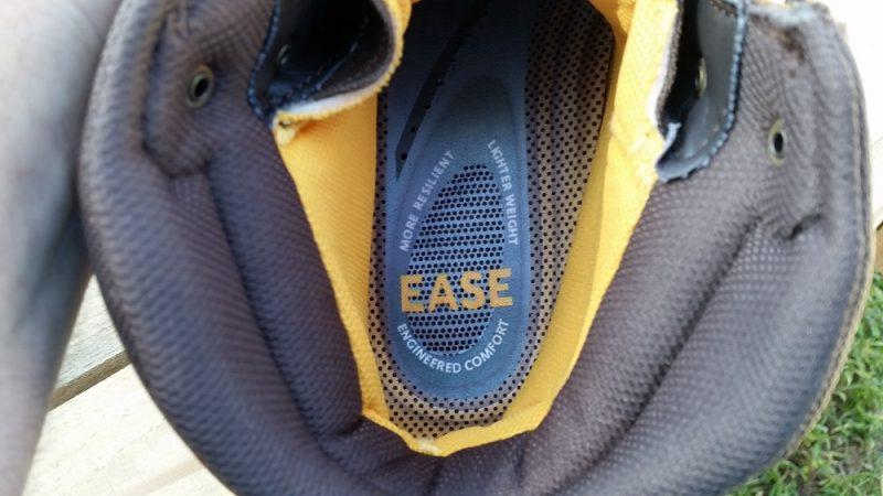 Cushioned heel pad