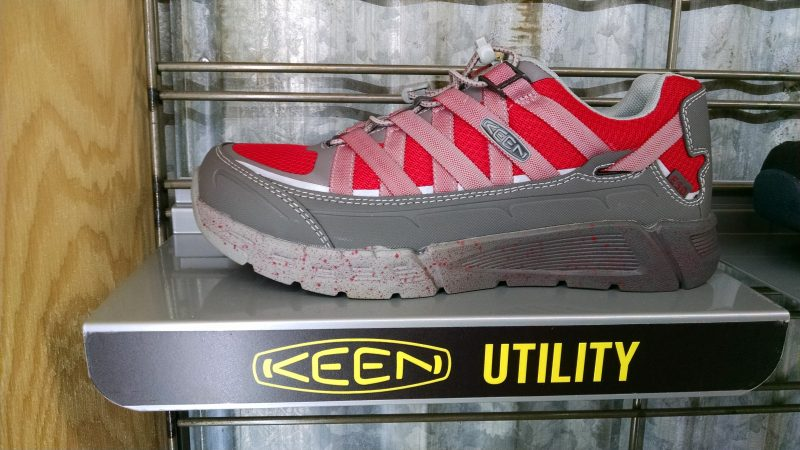 Keen Utility Asheville safety shoes