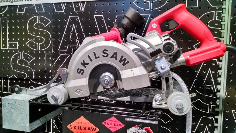 Skilsaw Medusaw concrete cutting saw