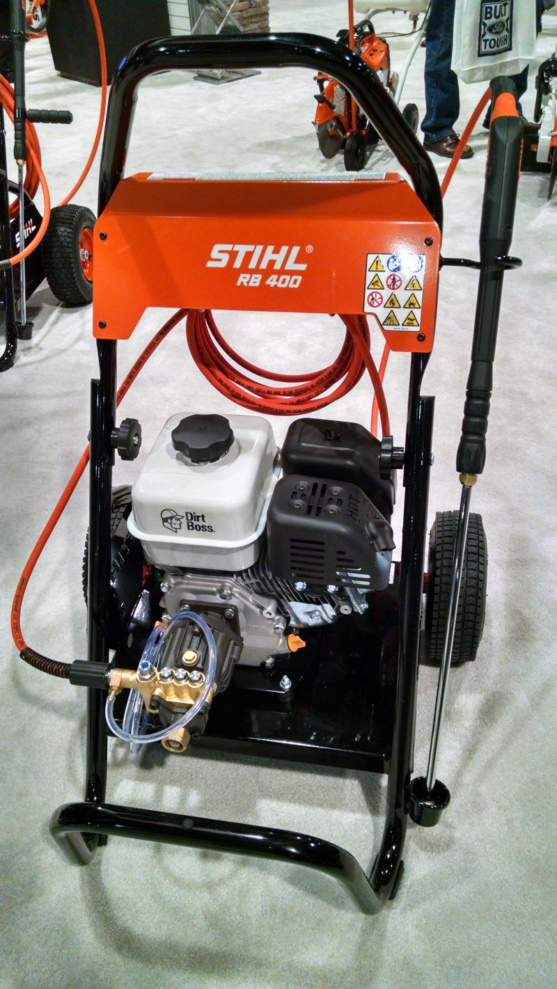 Stihl RB400 Dirt Boss pressure washer