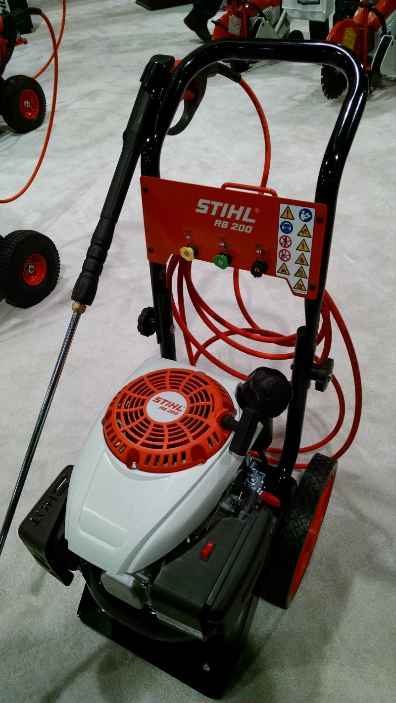 Stihl RB200 pressure washer