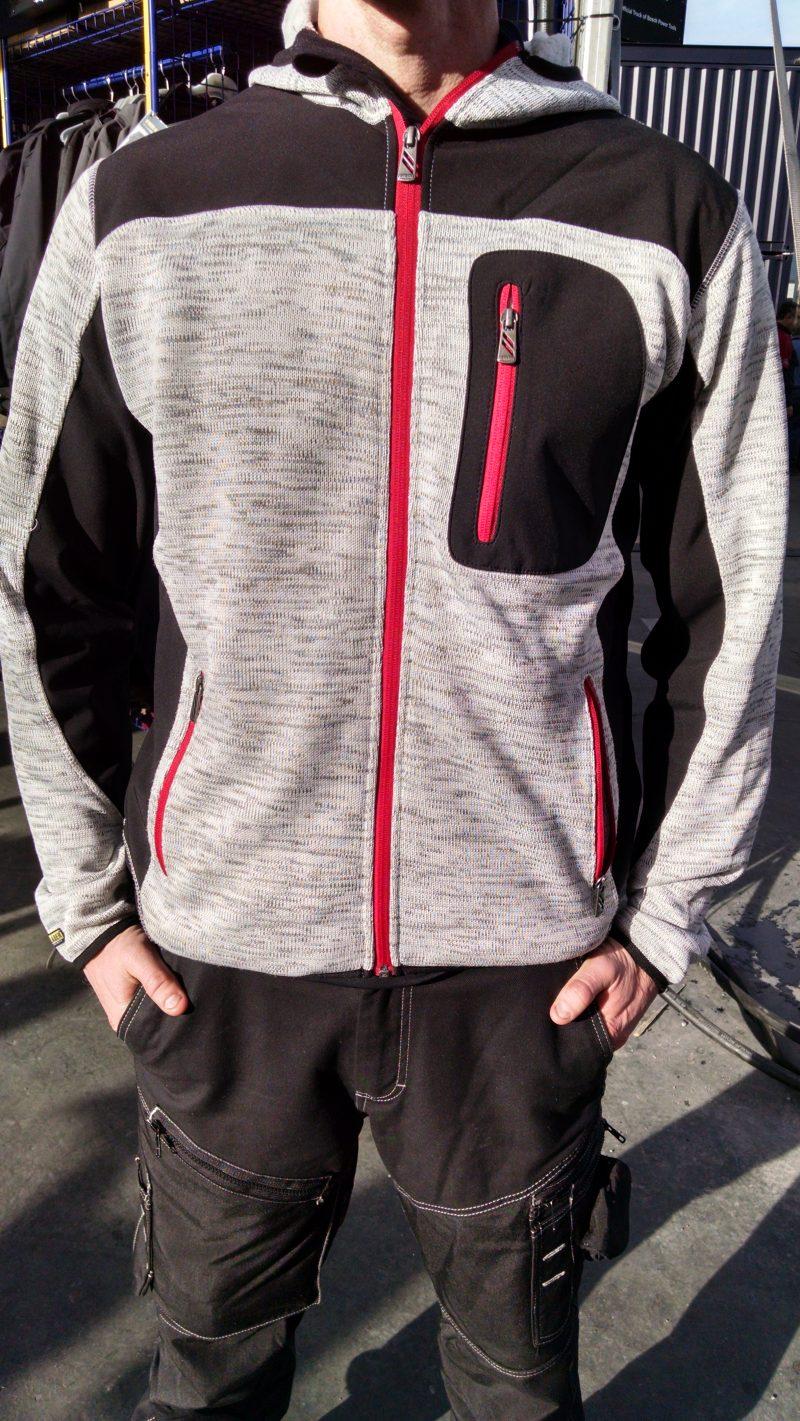 Blaklader #4940 knit jacket in light gray