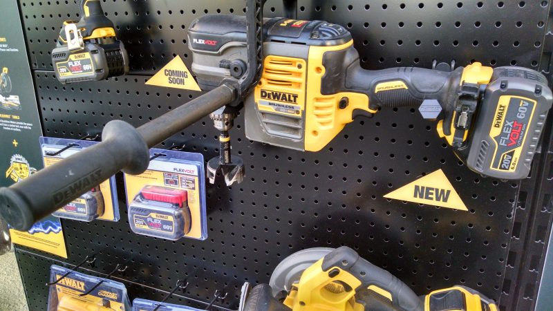 DeWalt Flexvolt heavy duty right angle drill