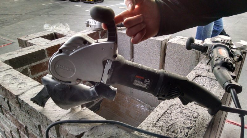 Arbortech AS170 Allsaw for cutting mortar