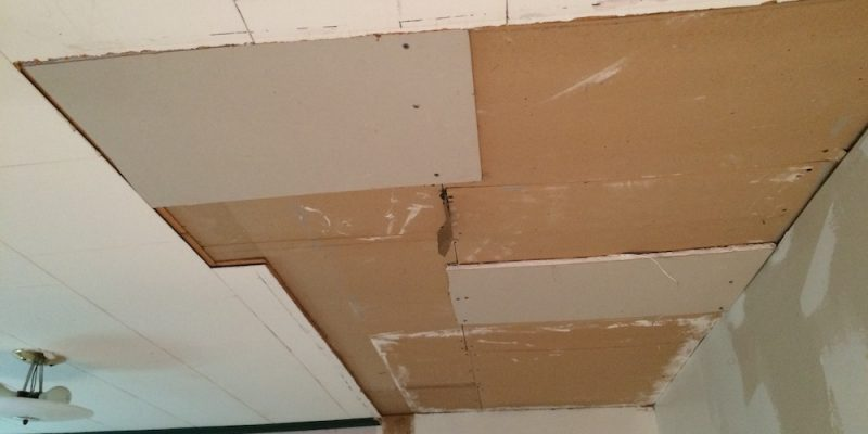 Total Ceiling Replacement – How To Make A Crappy Ceiling More Appealing