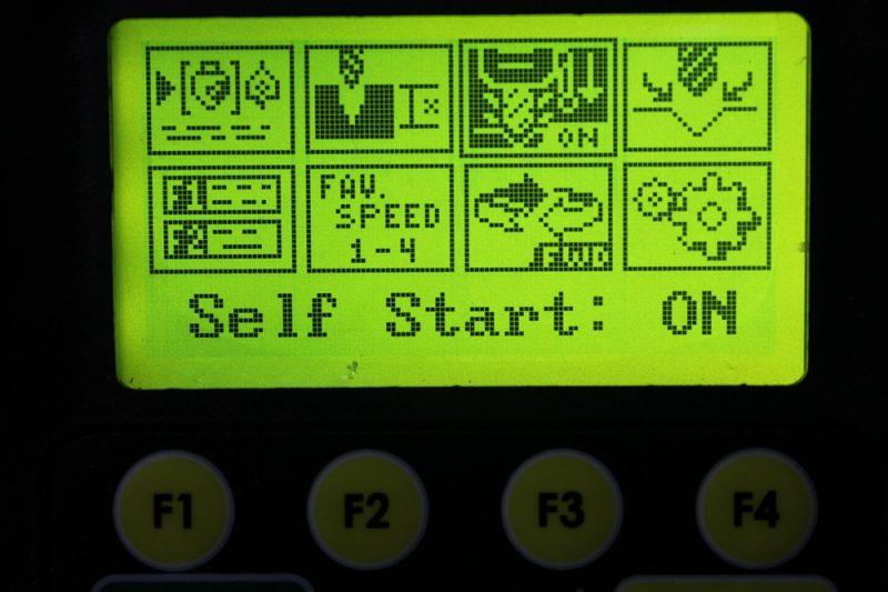 Self start mode
