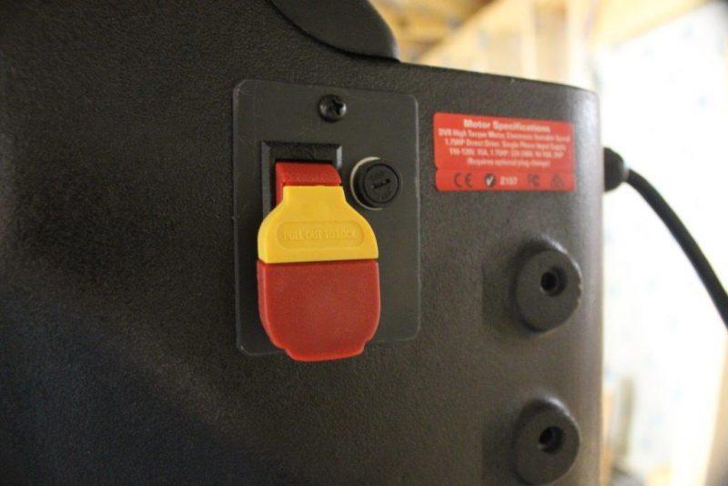 Main power switch