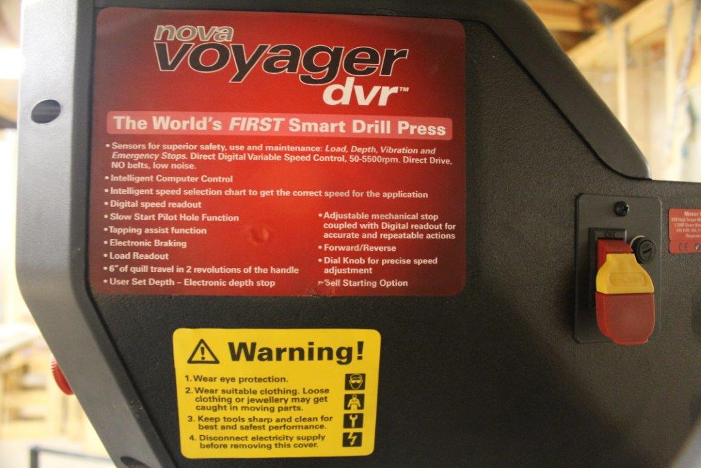 Nova Voyager Dvr Drill Press A Smart Game Changer Home Fixated