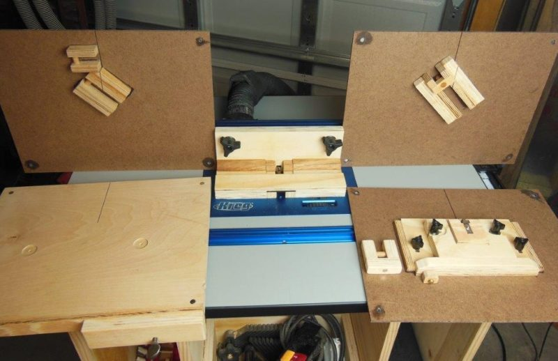 Band saw and router jigs