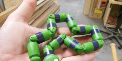 Make Your Own Wooden Wiggle Snake