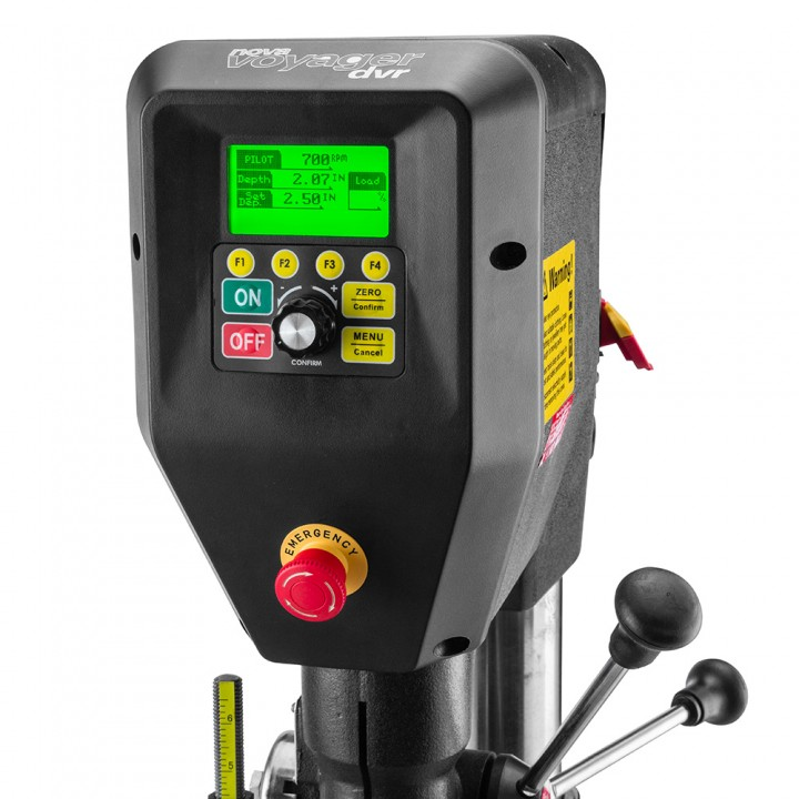 NOVA Voyager DVR Drill Press – A Smart Game Changer