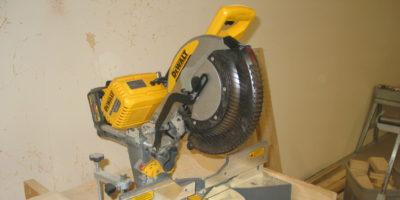 DeWalt Flexes Their Pecs with the new FlexVolt Sliding Compound Miter Saw