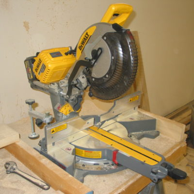 DeWalt Flexes Their Pecs with the new FlexVolt Sliding Compound Miter Saw
