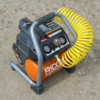 A Cordless Compressor? The 18 Volt Brushless Ridgid Cordless Compressor R0230 Reviewed