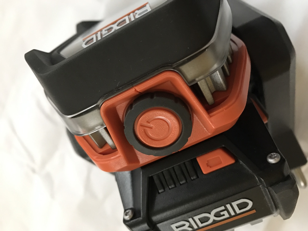 ridgid 18v flood light