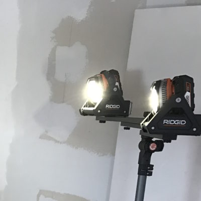 Ridgid 18V Flood Light Review – Dial Up Some Lumens