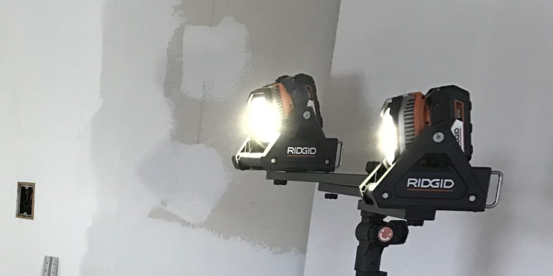 Ridgid 18V Flood Light Review – Dial Up Some Lumens