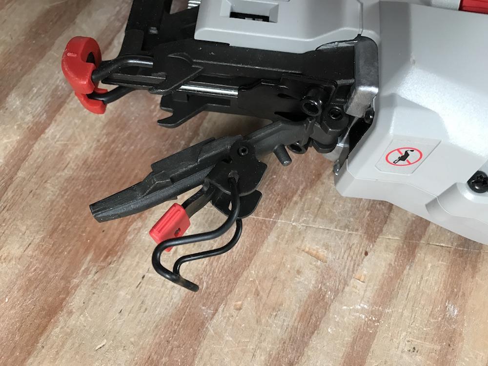 Porter Cable 20v Max Finish Nailer 16 Gauge Nails Zero