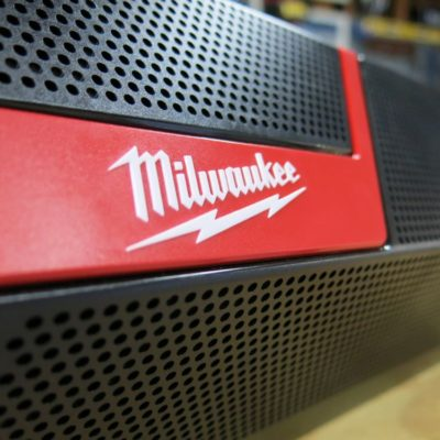 Boom Goes Your Smartphone – Milwaukee M12 M18 Wireless Jobsite Speaker