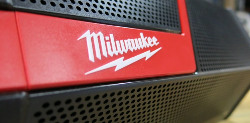 Boom Goes Your Smartphone - Milwaukee M12 M18 Wireless Jobsite Speaker