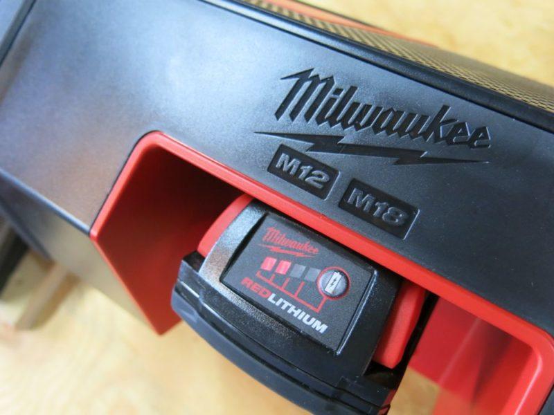 milwaukee wireless jobsite speaker fuel
