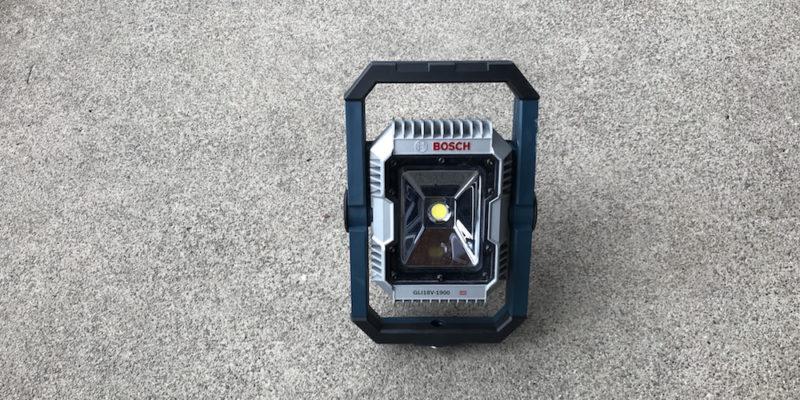 Bosch GLI18V-1900 Floodlight Review – A Small Light, A Lotta Lumens
