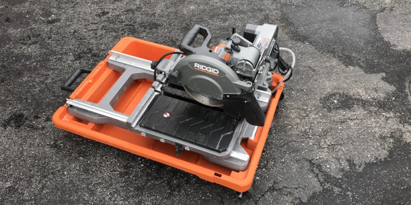 Ridgid R4040S Tile Saw Review – Cut It Out And Plunge In