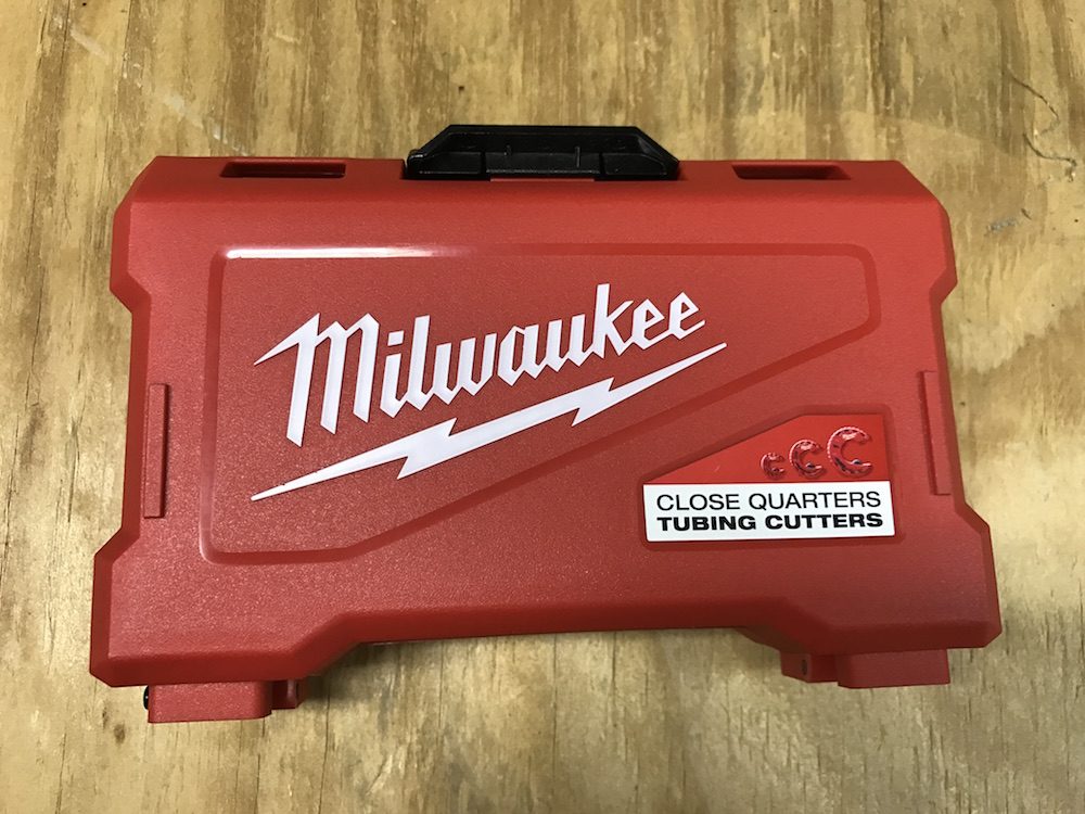 milwaukee close quarters tubing cutter