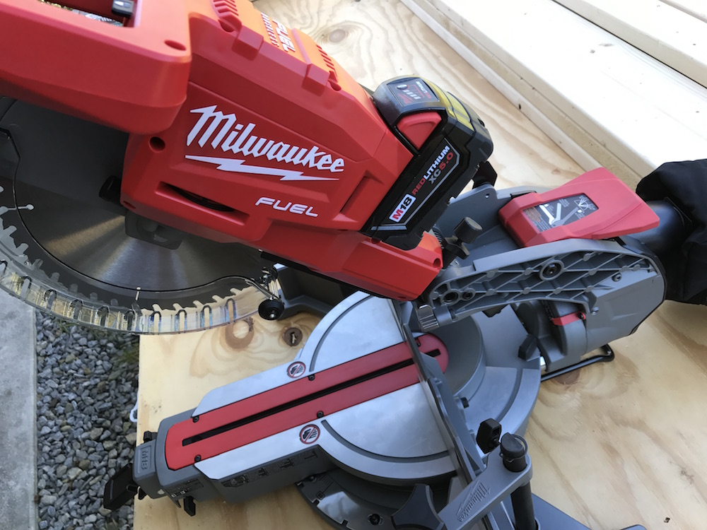 Milwaukee M18 Fuel Miter Saw Review – Time To Sell Your Extension Cord Stock?