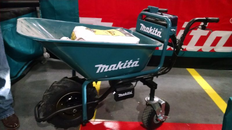 Makita motorized wheelbarrow