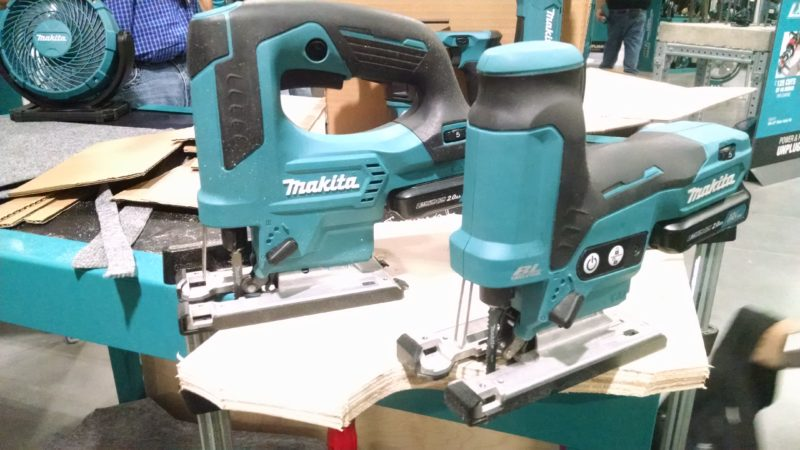 two 12-volt jig saws