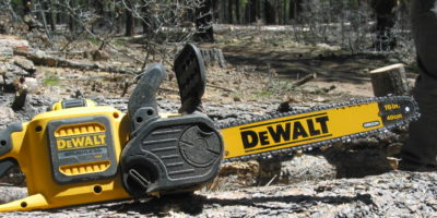 The DeWalt 60v Chainsaw – Leave the Gas Can at Home