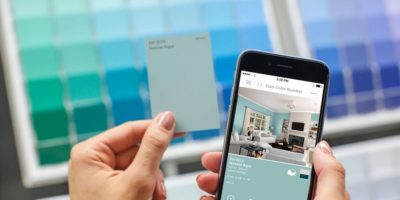 Sherwin Williams ColorSnap Visualizer and The Places You'll go with Pinterest