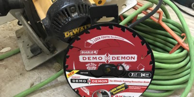 "Diablo Demo Demon 7-1/4"" Saw Blades – Releasing Your Inner Demo Demons"