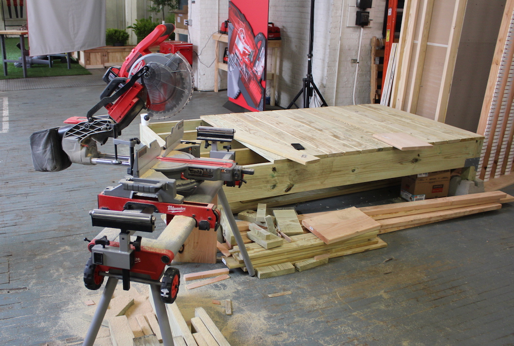 Milwaukee M18 Fuel Miter Saw