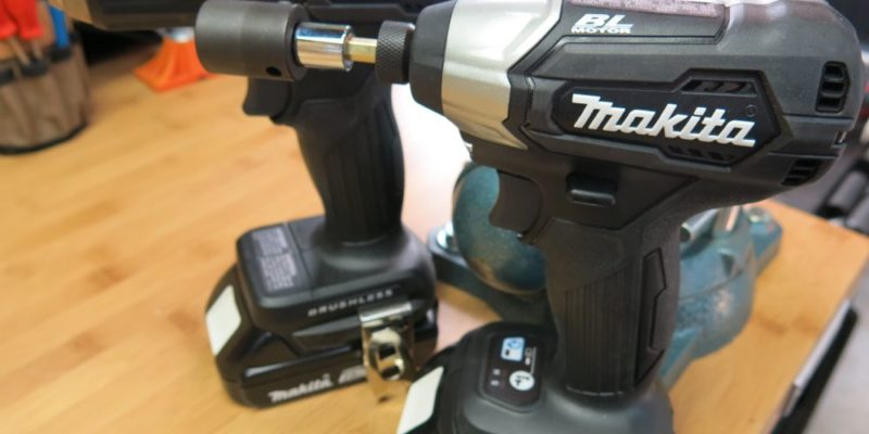 Makita Sub-Compact Drill and Impact Driver - 18v Goes Ninja